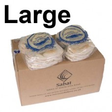 Sabat Large White Pitta (20 x 6)