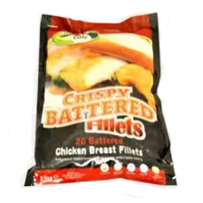 Battered Chicken Breast Fillet 120g (20)