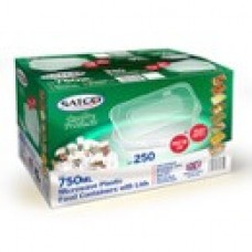SATCO 650ml Containers (250)